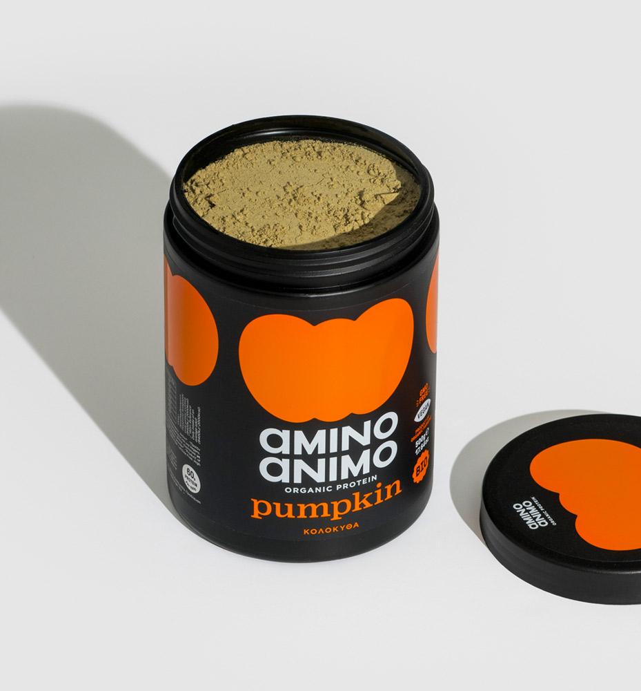 powder protein πρωτεΐνη βιολογική κολοκύθας pumpkin fitness find your protein