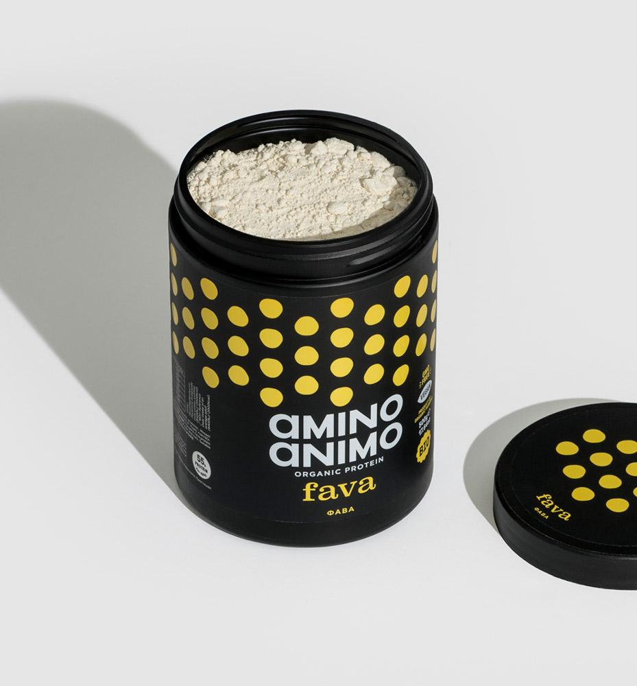 amino animo protein πρωτεΐνη φυτική vegan φάβα fava boost βιολογική φυτικές ίνες χτίσιμο μυών αντοχή βιταμίνες ενέργεια