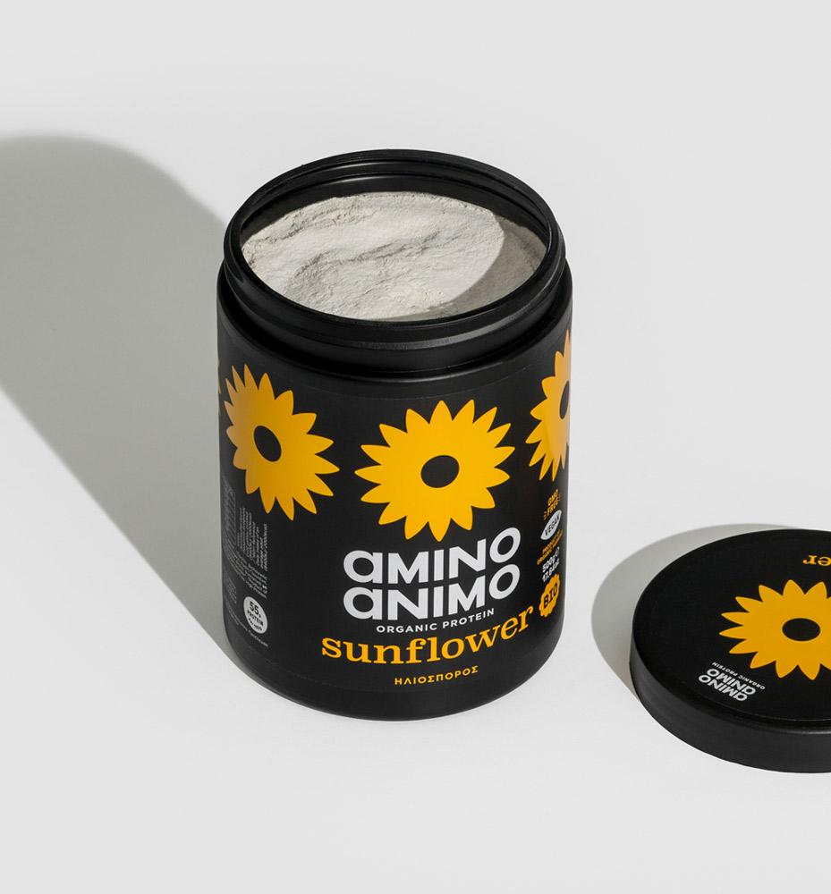 powder protein πρωτεΐνη βιολογική sunflower fitness find your protein