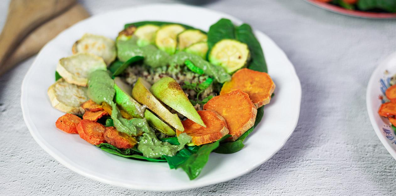 σαλάτα vegan protein πρωτεΐνη φυτική salad eat healthy